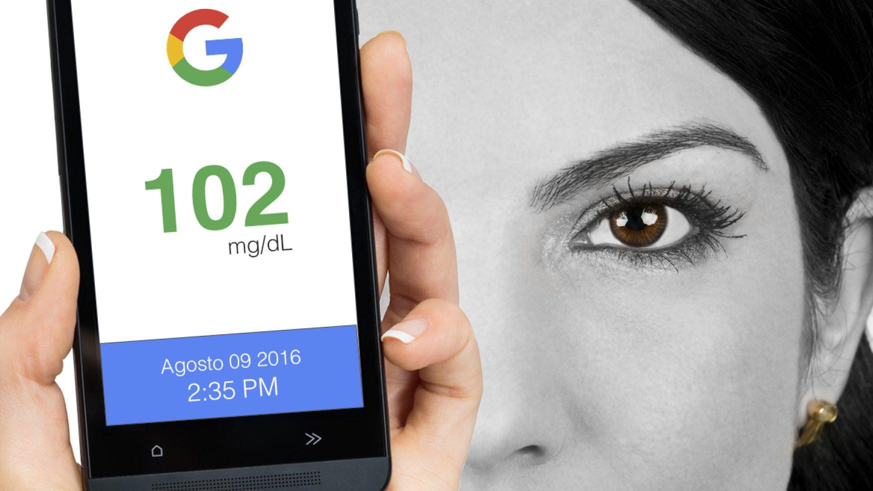 Lentes de contacto digitales de Google medirán continuamente los niveles de glucosa